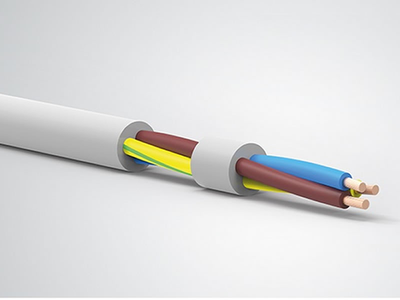 H05VV-F,H05VVH2-F,300/500V Copper Round/Flat PVC Insulated PVC Sheathed Cable