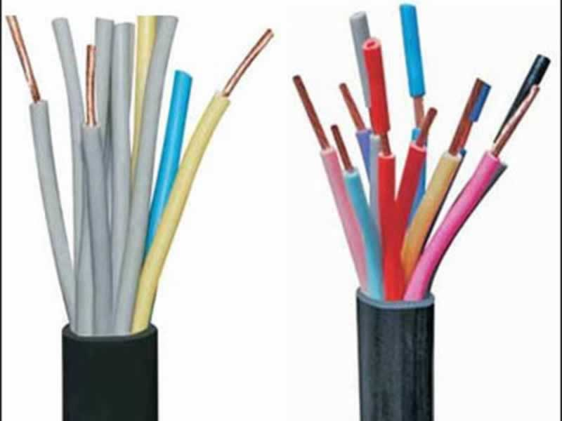 Multicore Industrial Electric wire Cables